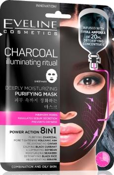 fekete maszk, fekete arcmaszk, arcmaszk mitesszer ellen, koreai arcmaszk, eveline arcmaszk, arcmaszkok