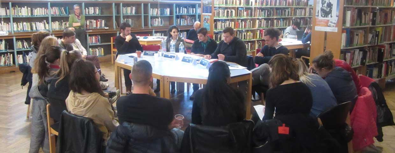 Rencontre Jeunes et politiques à Charleroi