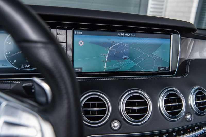 Mercedes-Benz S-Klasse Cabrio 500 , 456 PK, AMG/In/Exterieur, Swarovski, Head/Up, Airscarf, 29DKM, NIEUW!! afbeelding 7