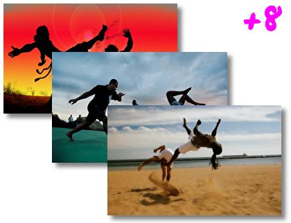 Capoeira theme pack