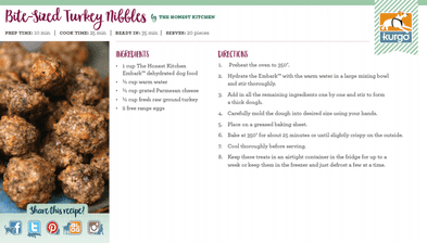 Holiday Recipe: Bite-Size Turkey Nibbles