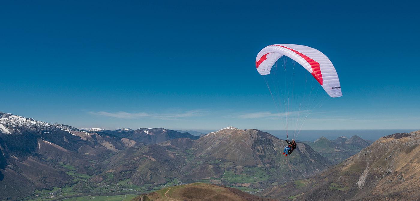 Yeti tandem 3 – Light tandem paraglider