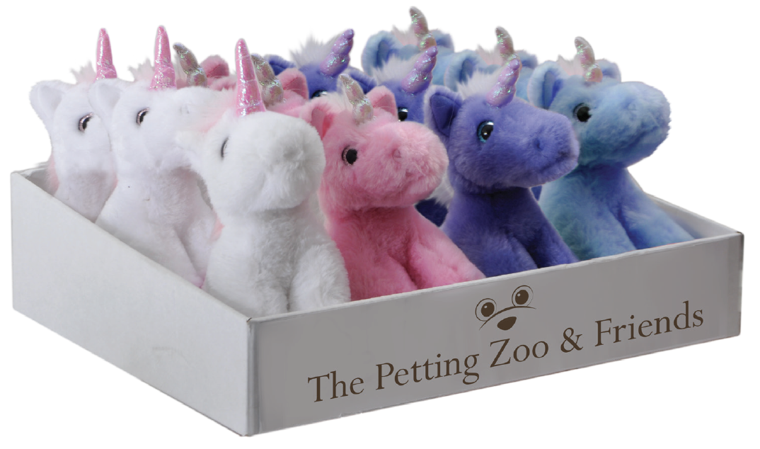 The Petting Zoo: Miniz Unicorn Assortment & Tray