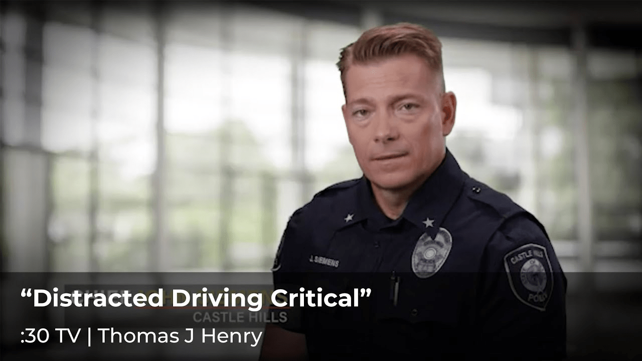 """""""Distracted Driving Critical"""""""