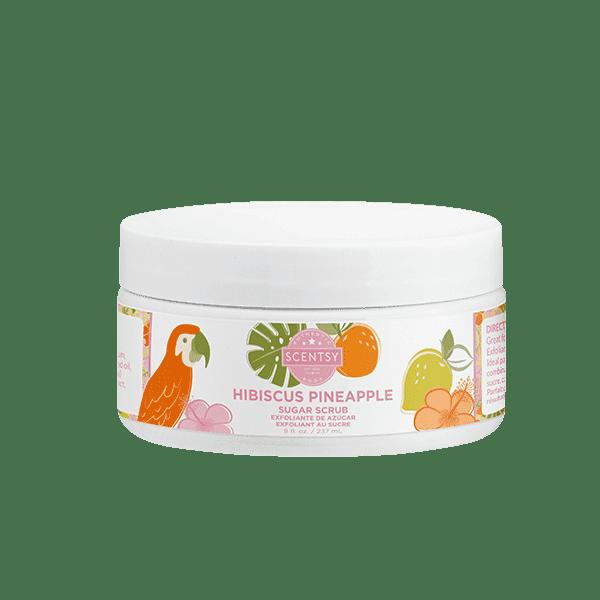 Hibiscus Pineapple Sugar Scrub