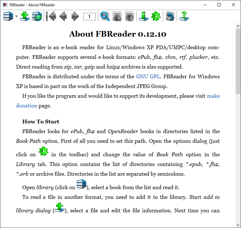 List of mobi format readers and viewers for Windows
