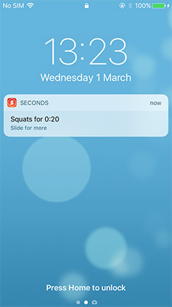 Seconds Pro - The best interval timer app for HIIT, Tabata and