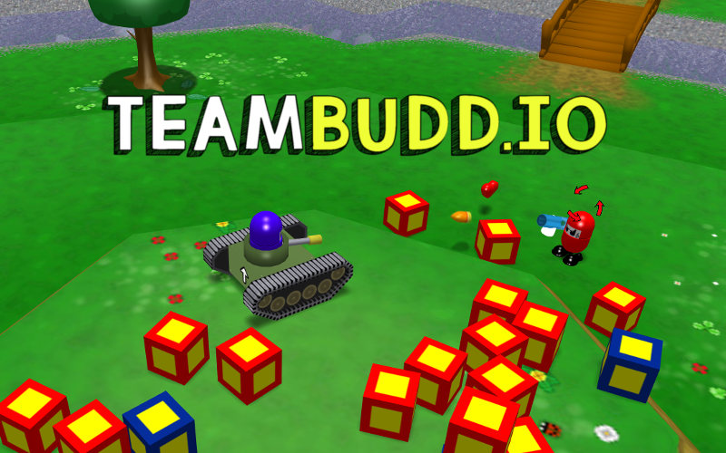 Online io game remake of Team Buddies