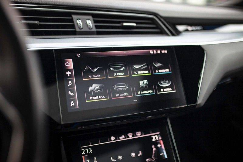 Audi e-tron 55 Quattro *4% Bijtelling / Prijs Ex. BTW / B&O / Stad & Tour pakket / Pano / ACC* afbeelding 12