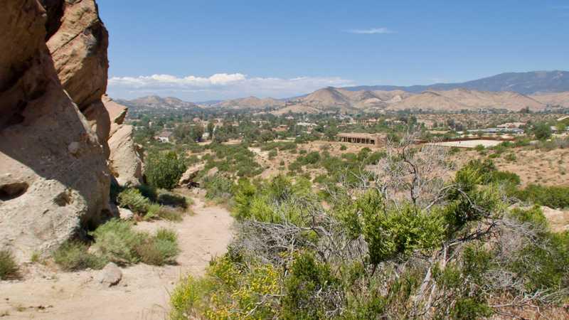 View of Agua Dulce
