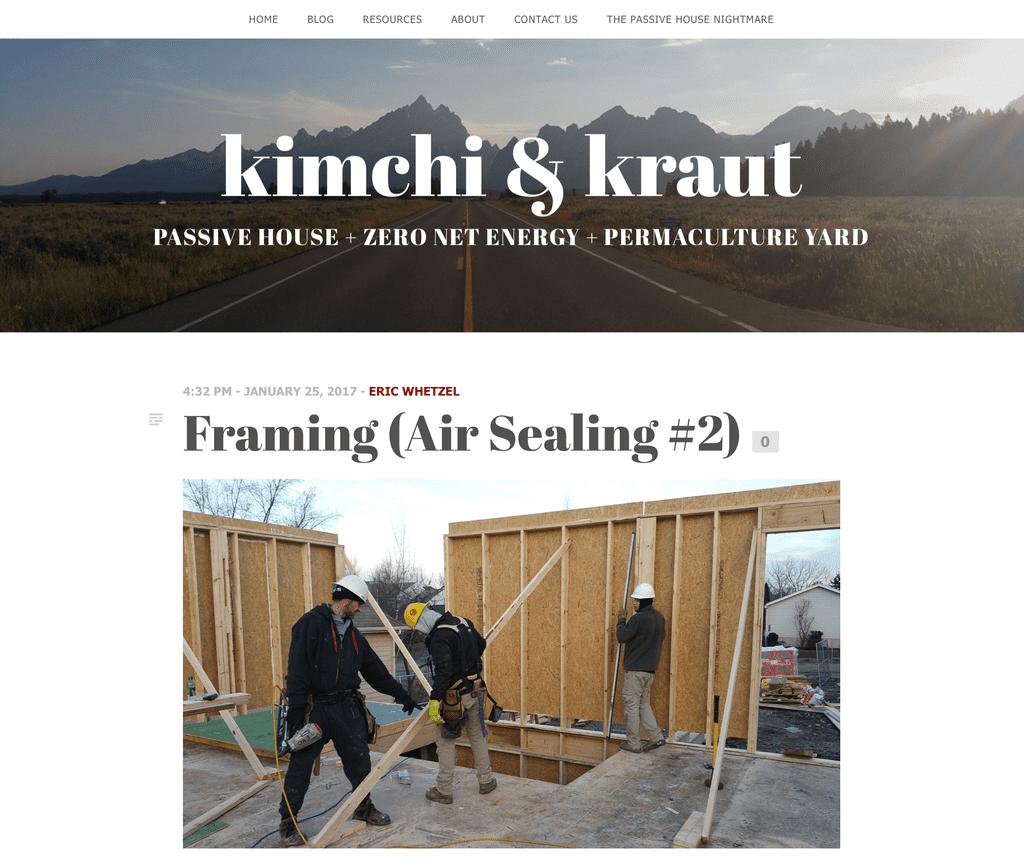Kimchi & Kraut Website