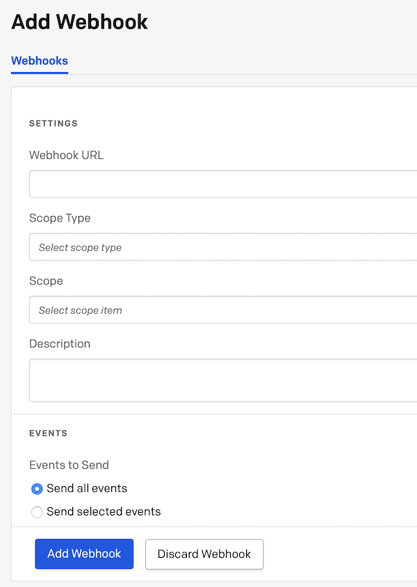 PagerDuty Extension interface