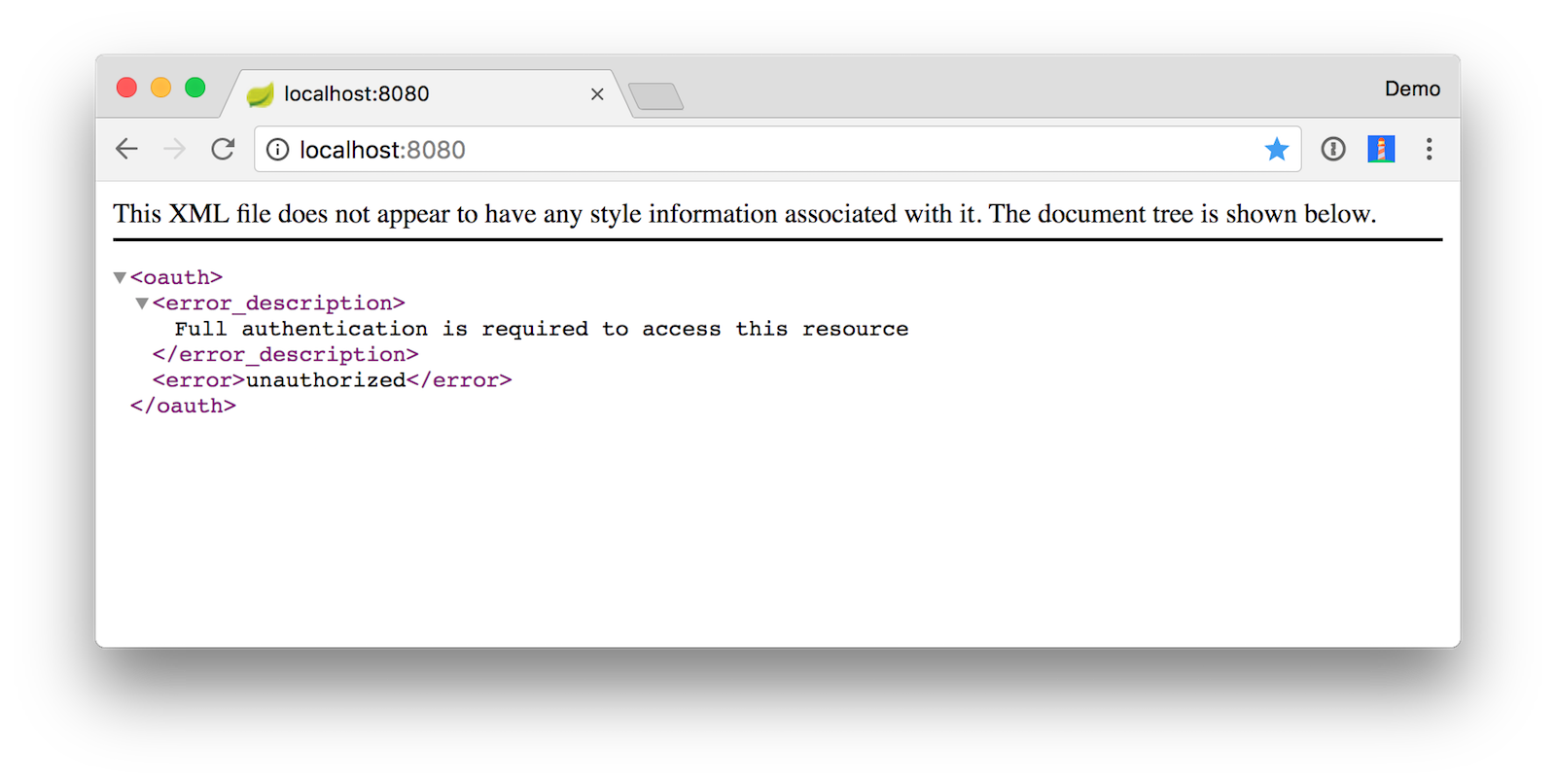 Spring Boot Access Denied