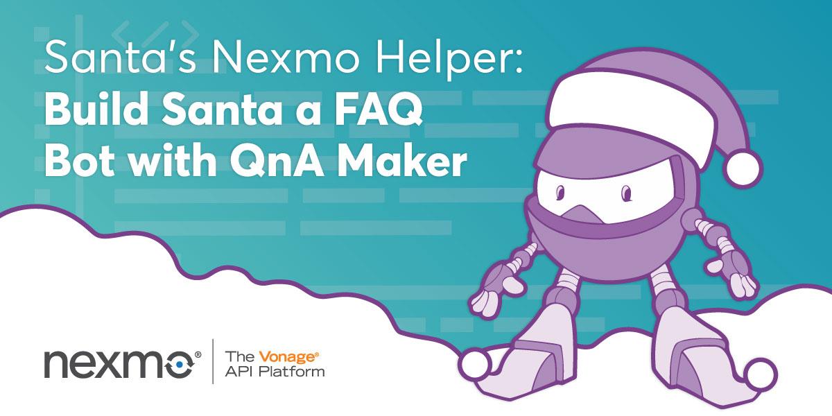 Santa's Nexmo Helper – C# Advent Series