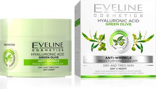 EVELINE OLIVÁS ránctalníó hidratáló arckrém száraz bőrre 50 ml | Eveline Cosmetics