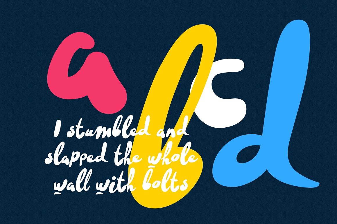 Cattyfox fresh & superfunny font images/5_promo_foxcat-font-brush-script-free_DB_6.jpg