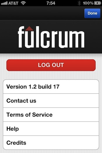 Fulcrum Data Collection Screenshot