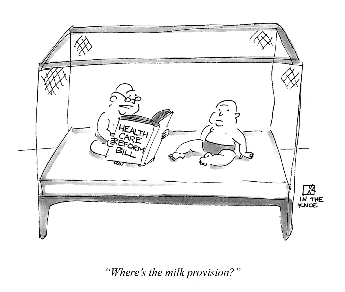 Where's the milk provision?