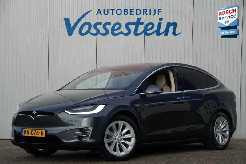 Tesla Model X 90D Base 6p. 6-Persoons / Panoramadak / Camera / Luchtvering / 112dkm NAP / NL-Auto afbeelding 2