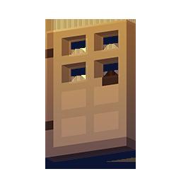 Minecraft Trädörr