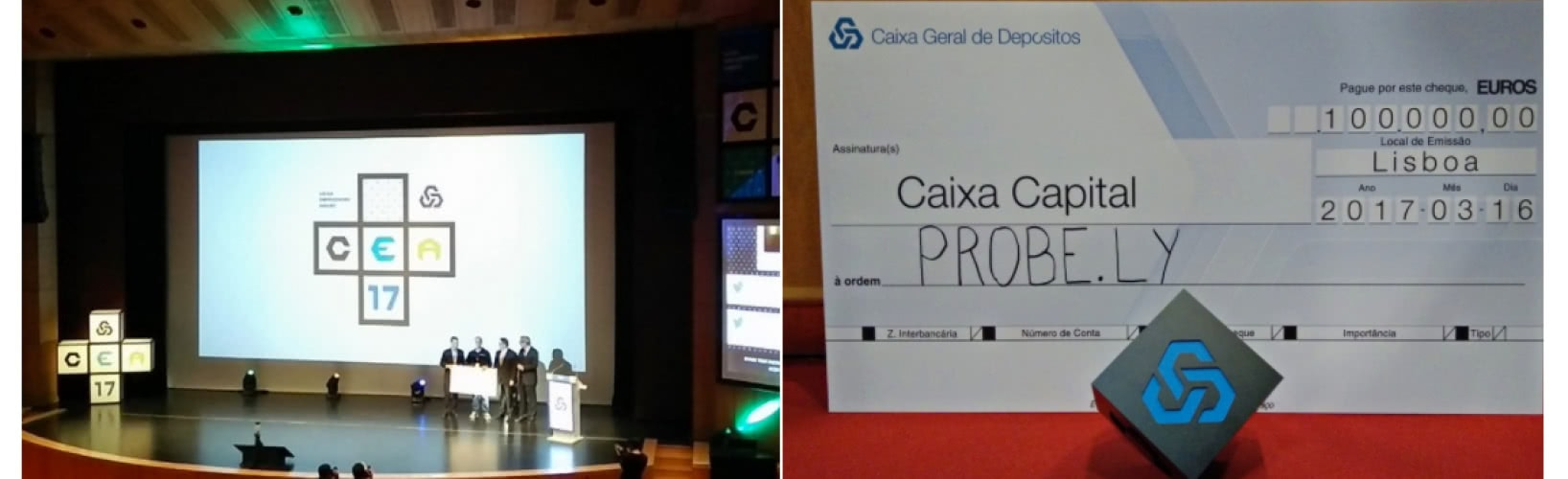 Probe.ly wins Caixa Empreender Award