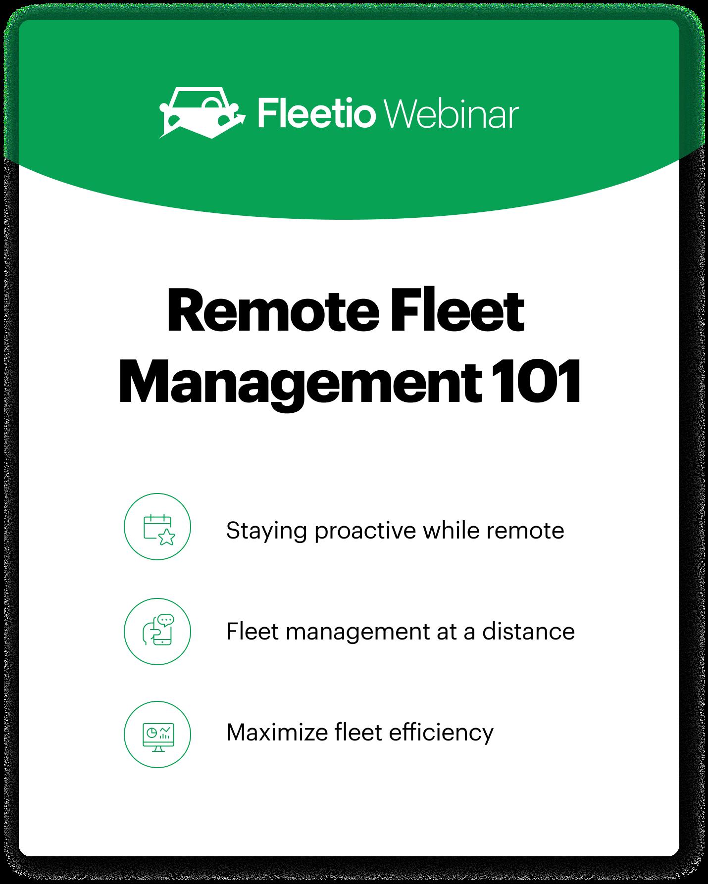 Remote webinar