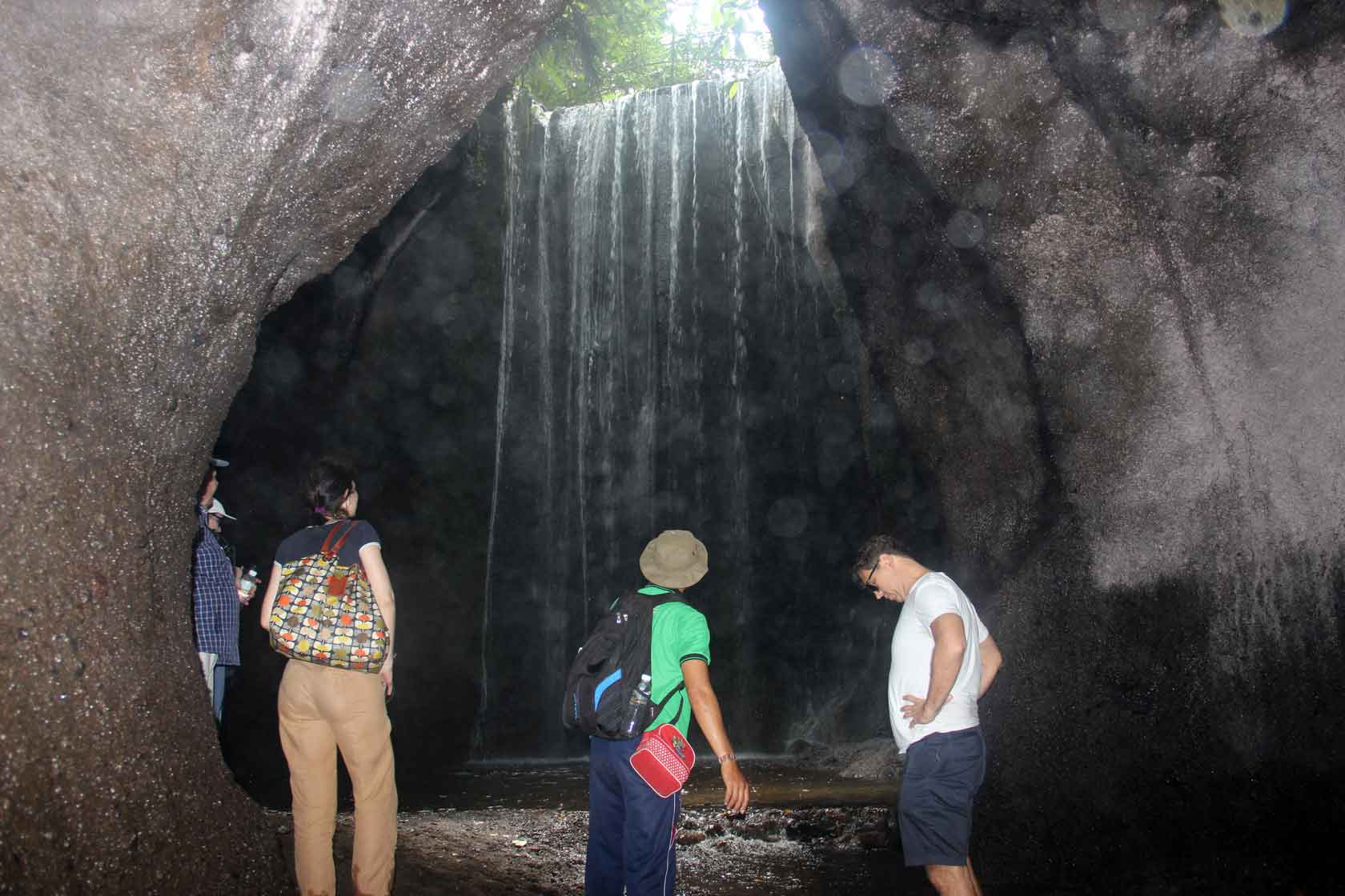 Waterfall trekking