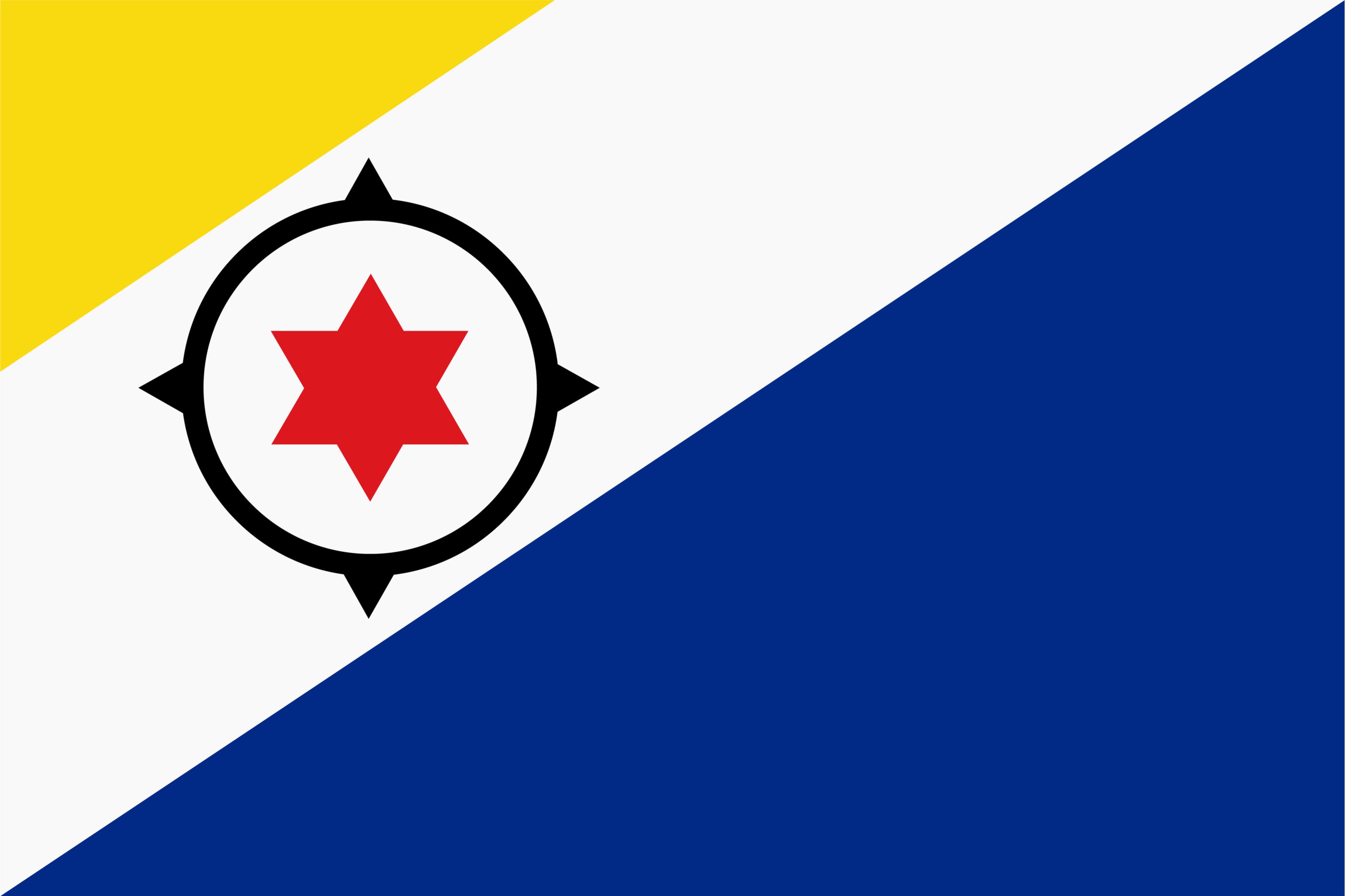 Flag of Bonaire, Saint Eustatius and Saba