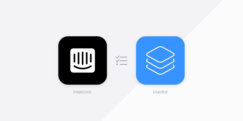 Intercom vs Userlist