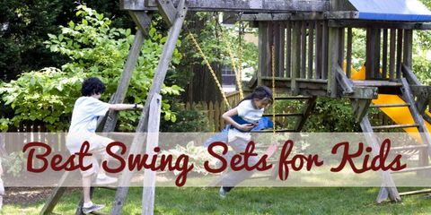 The Best Swing Sets for Kids 2017