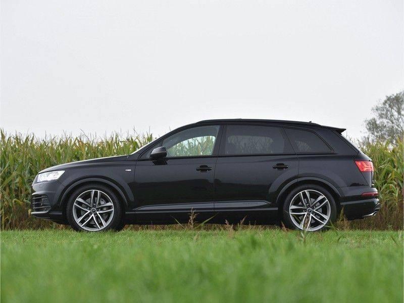 Audi Q7 3.0TDI 272Pk S-Line 7p Quattro Lucht Pano Standk Head-Up 360-Camera 21-Inch Trekh afbeelding 3