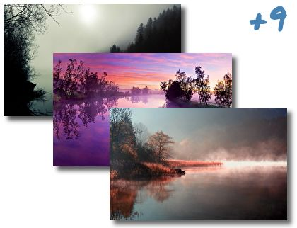 Foggy River theme pack
