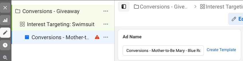 conversions data
