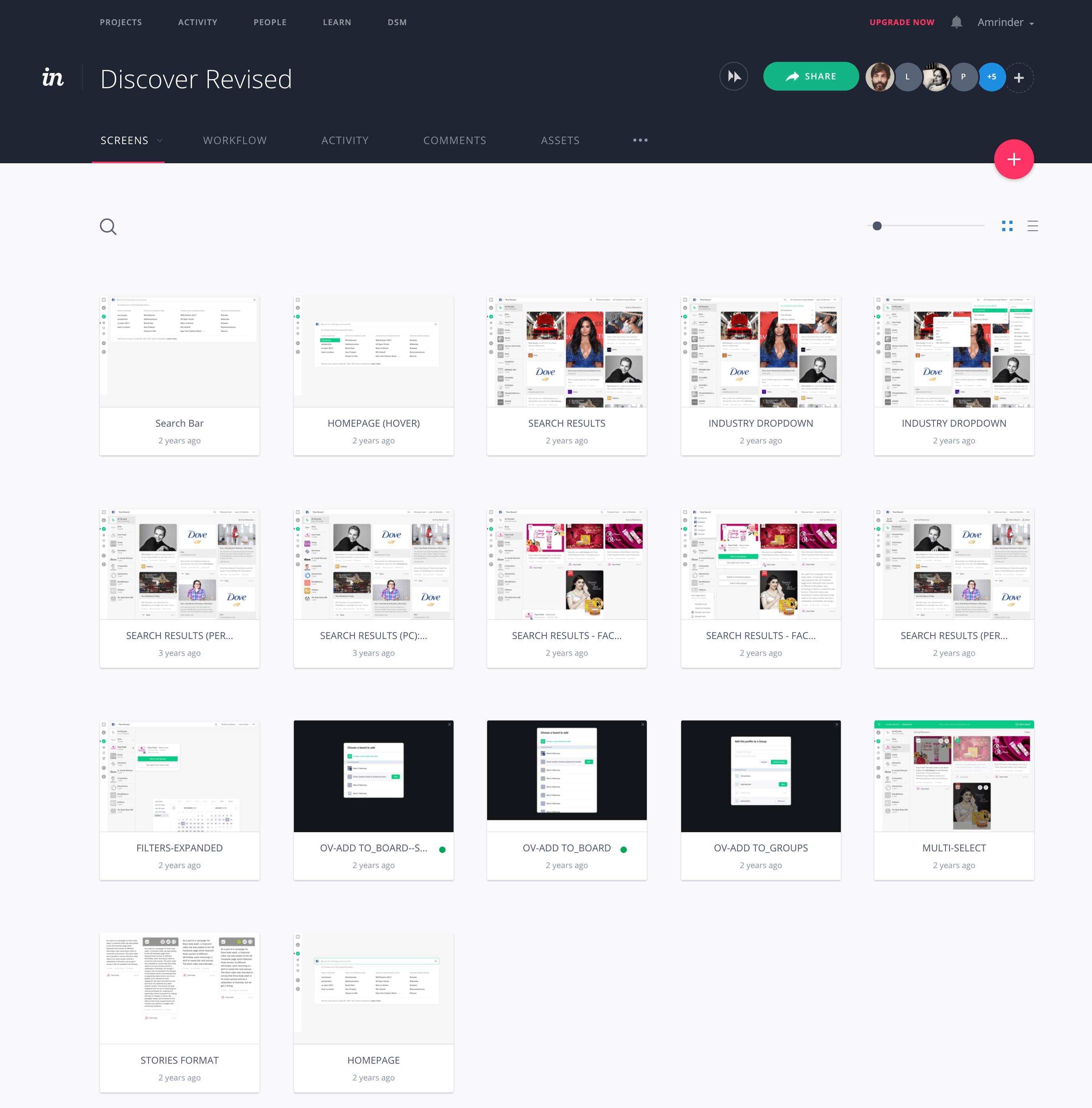 Discover prototype