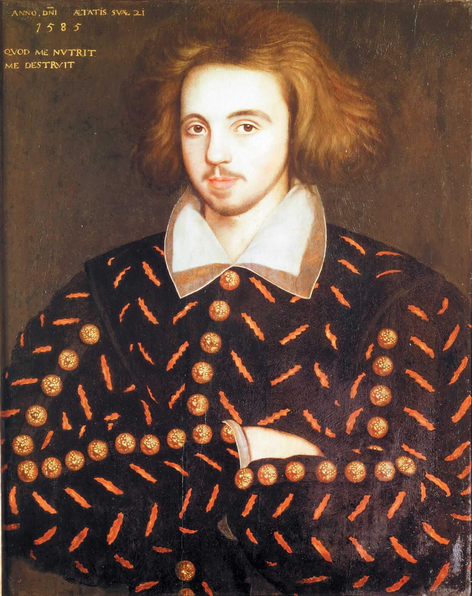 Портрет неизвестного. Помнению некоторых исследователей, здесь изображен английский поэт идраматург XVI века Кристофер Марло / wikipedia.org