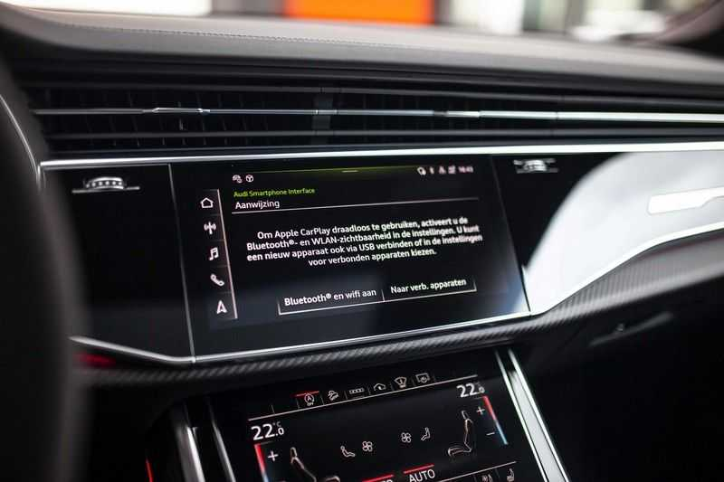 "Audi RS Q8 4.0 TFSI Quattro *RS-Dynamic Plus / Keramisch / Massage / HUD / 23"" / B&O* afbeelding 19"