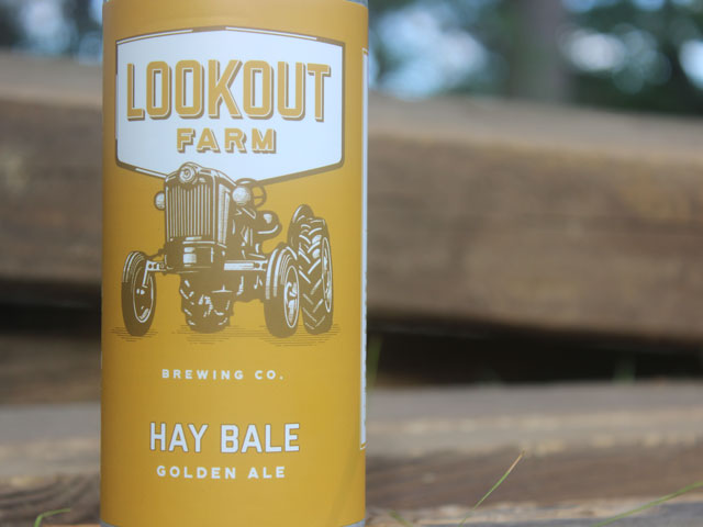 Hay Bale, a Golden Ale brewed by Lookout Farm Brewing And Cider Company