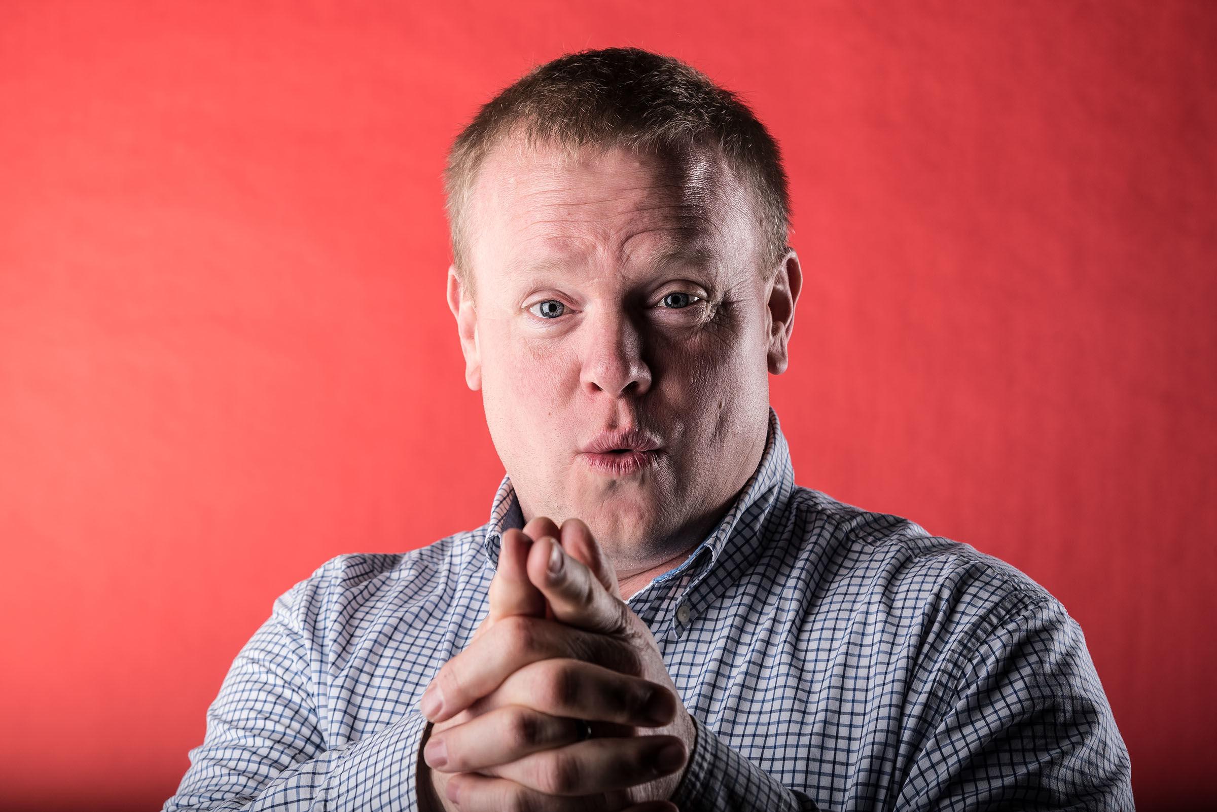 Portrait of Andy VanRemortel