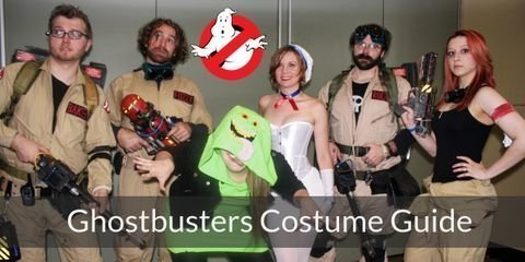 Create your own Ghostbusters outfit: It's cool, it's affordable, it's fun, and it's homemade.