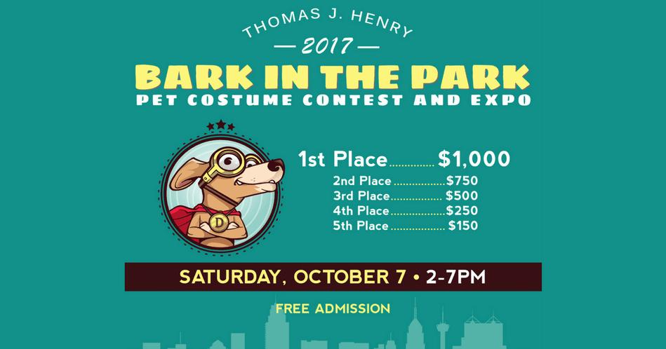 Thomas J Henry 2017 Bark in the Park