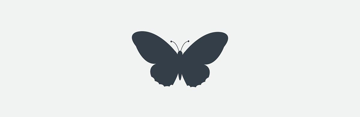 Adonis Blue branding visual