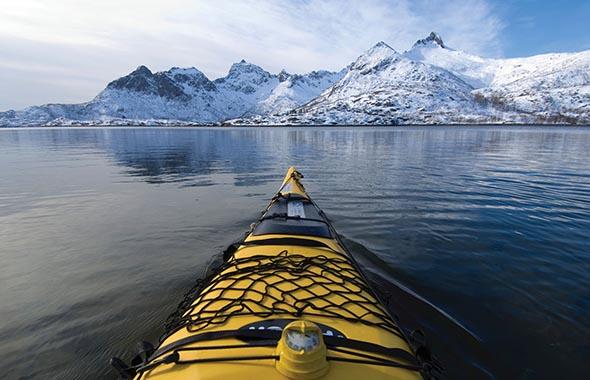 Activities Lofoten Anker Brygge Kayaking