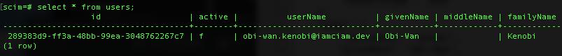Database Inactive User Image
