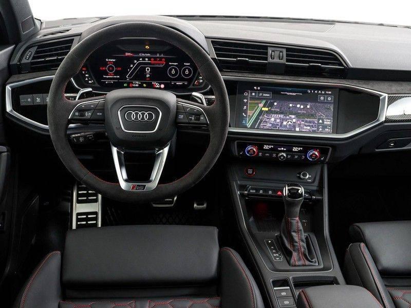 Audi Q3 Sportback TFSI RS 400 pk Pano.Dak   360 Camera   Carbon   Adapt. Cruise   Alcantara Sportstuur   Garantie tot 2026*   afbeelding 3