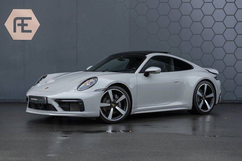 "Porsche 911 3.0 Carrera Sport Design Pack, ACC, Lifting, Pano, Sportuitlaat, Klimaatstoelen, 21"", PPF, SportChrono, Nightvision, BOSE Surrou afbeelding 1"