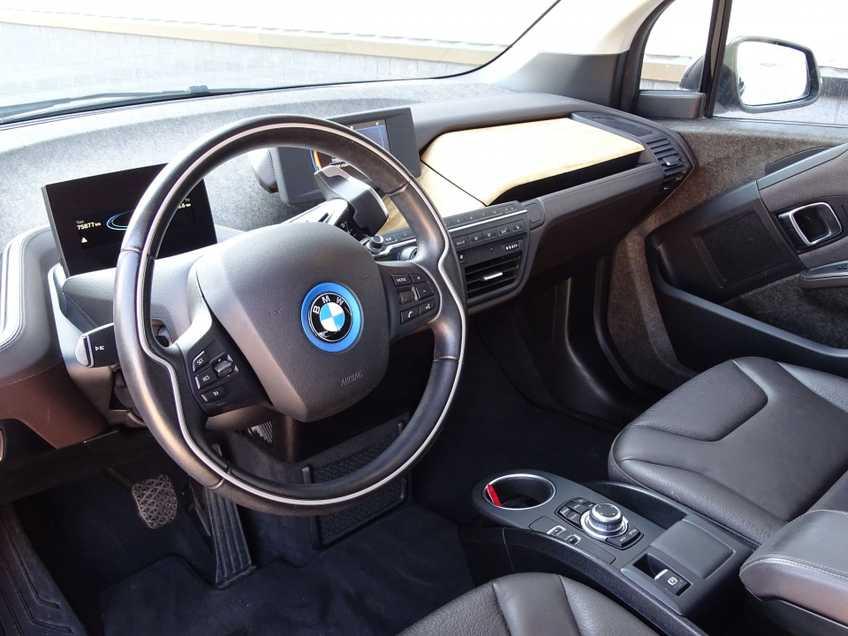 BMW i3 Basis Comfort Advance 22 kWh Marge Warmtepomp Navigatie Clima Cruise Panorama *tot 24 maanden garantie (*vraag naar de voorwaarden) afbeelding 14