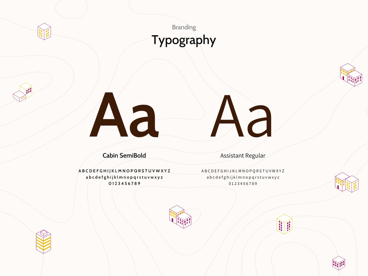 Typography - UX Design | Property Deal Genie