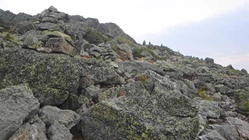 Mt. Madison rocks