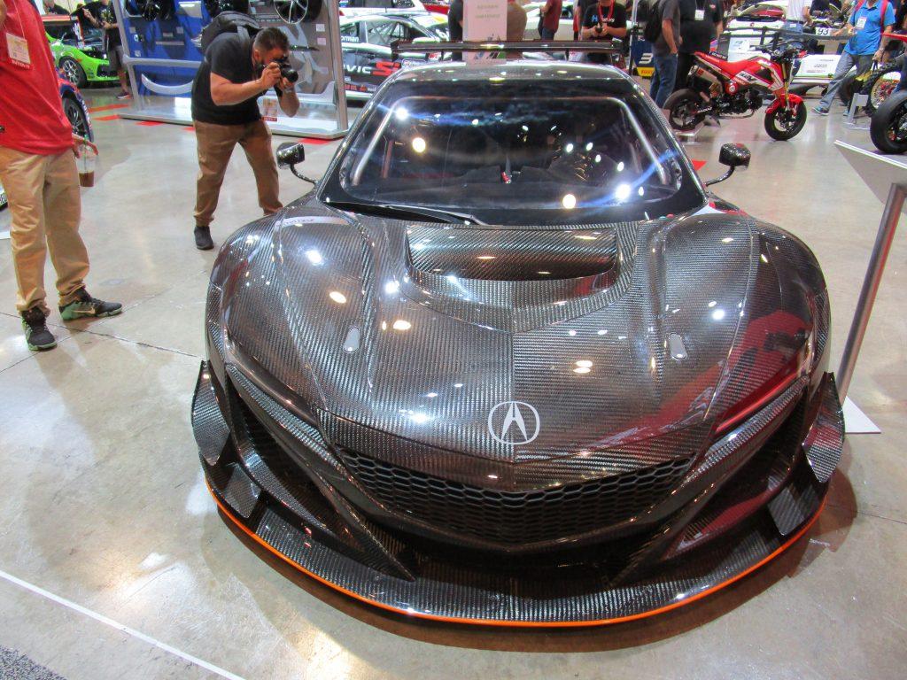 Carbon Fiber Acura