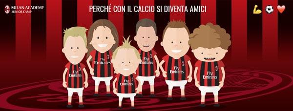 Copertina Facebook Milan